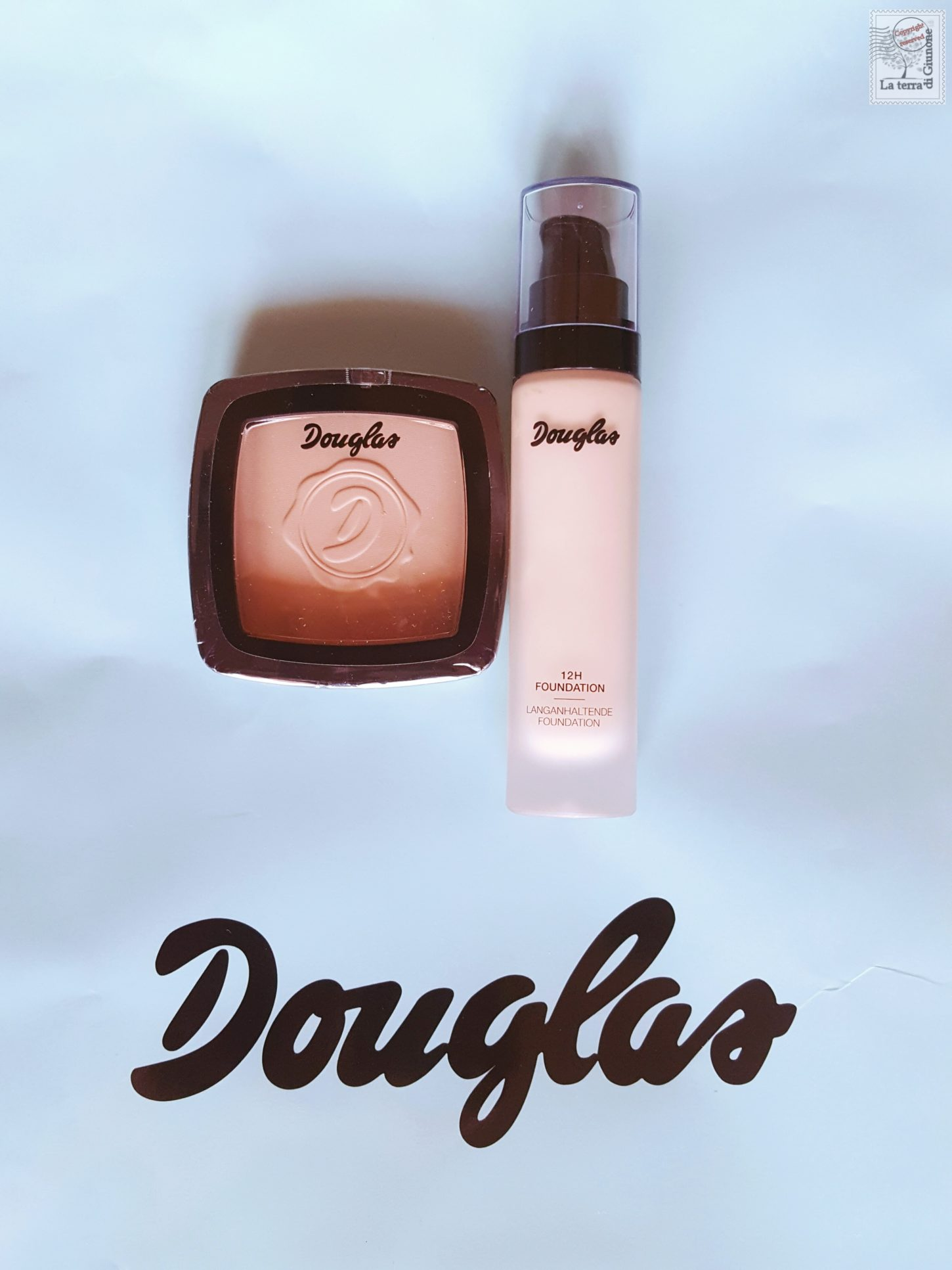 Douglas Fondotinta 12H Foundation & Cipria Mattifying Powder