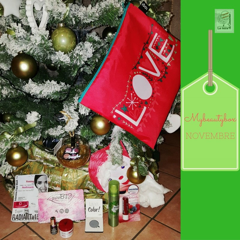 "La Box di Juny- Mybeautybox Novembre 2016 ""Waiting for Christmas"""