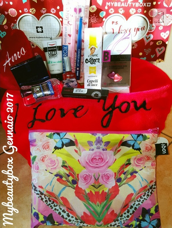 PS I LOVE YOU- Mybeautybox Gennaio 2017