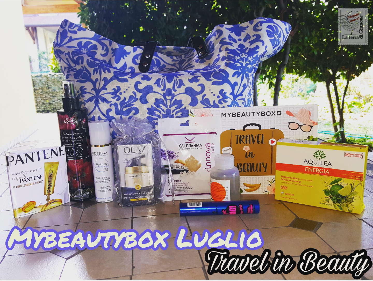 Mybeautybox- Travel in Beauty- Luglio 2017